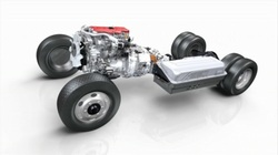 Model of the Toyota Hino hybrid Diesel Engine system