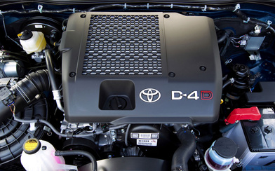 Picture of Toyota Diesel Truck d4d Engine